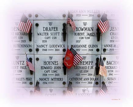 Naval Academy Columbarium Memorial by Brian Wallace