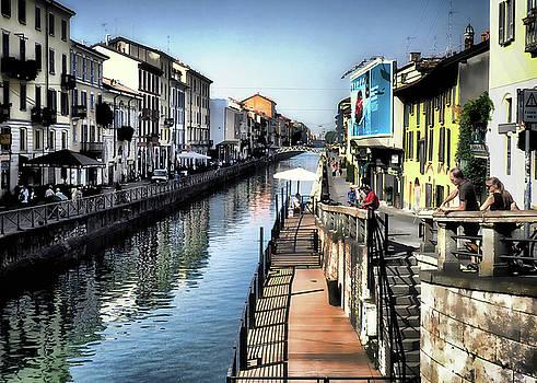 Naviglio Grande Canal by Jim Hill