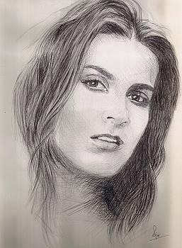 Nazanin Afshin former MissCanada  by Reza Naqvi
