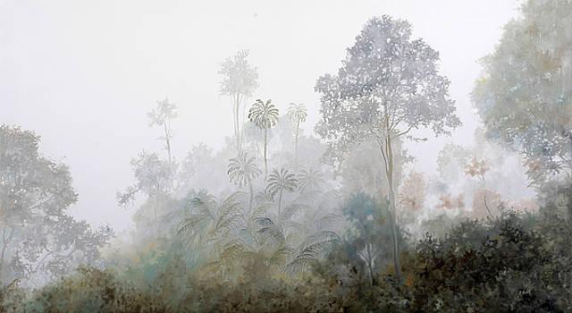 Nebbia Nella Foresta by Guido Borelli