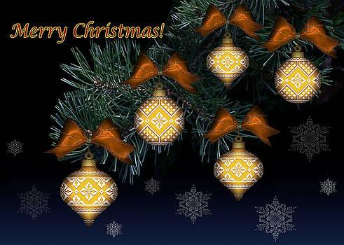 Needlework Christmas Ornaments II by Stoyanka Ivanova