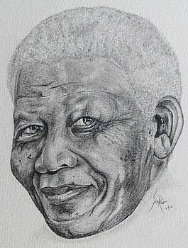 Nelson Mandela by Stephen Sookoo