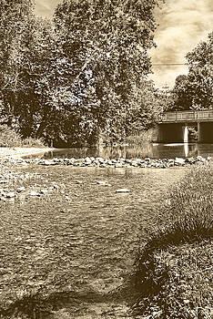 Judy Hall-Folde - Neosho Country Creek BW