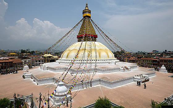 Nepal Kathmandu Boudhanath  by Alexander Shafir