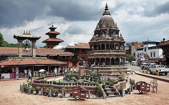 Nepal Patan Durbar Square  by Alexander Shafir