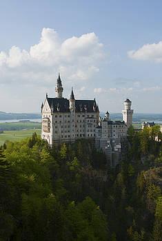 Neuschwanstein Castle by Andrew  Michael