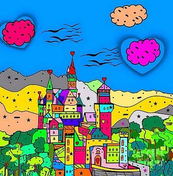 Neuschwanstein Castle by Nico Bielow by Nico Bielow