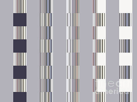 Neutral Graphic City Block Highrise by Ann Johndro-Collins