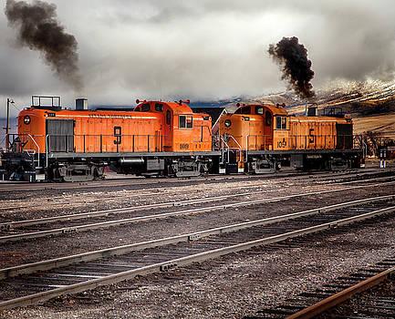 Nevada Northern Train by David Millenheft
