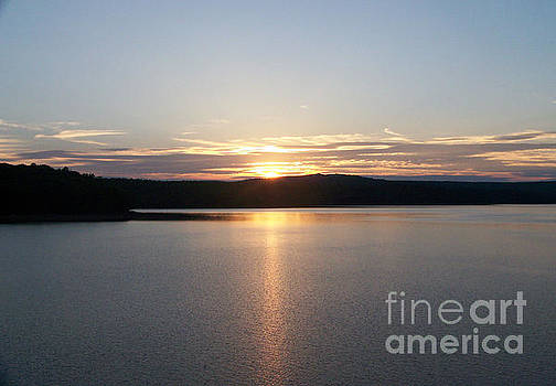 Neversink Reservoir at Sunset by Kevin Croitz