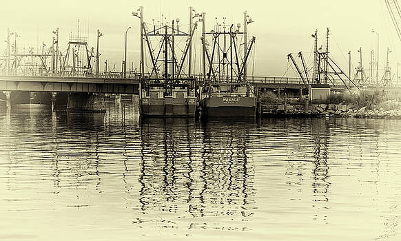 New Bedford Harbor by John Hoey