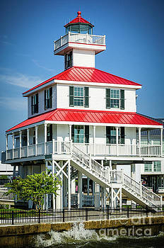 Kathleen K Parker - New Canal Lighthouse - NOLA