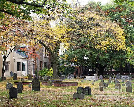 New England Cemetery by Cheryl Del Toro