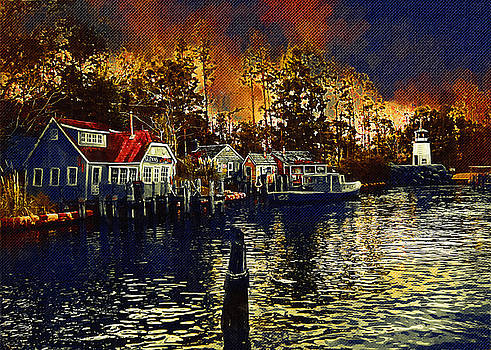 New England Town by Paul Bartoszek