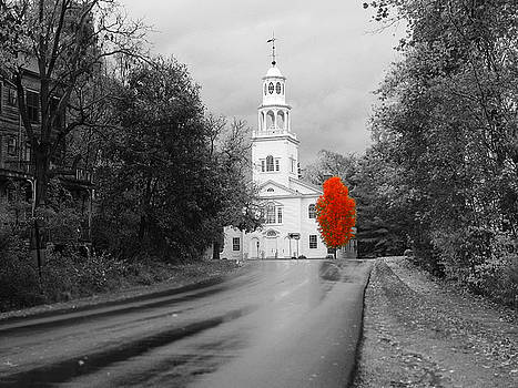 New Hampshire Church by Jim Kuhlmann