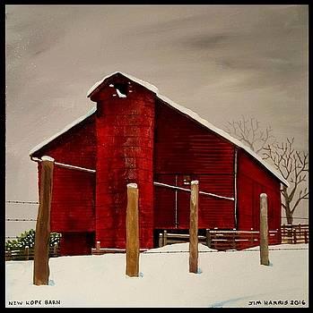 New Hope Barn by Jim Harris