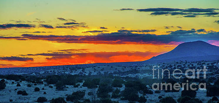 New Mexican Sunset by Steve Whalen