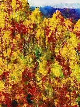 New Mexico Aspens by Joseph Frank Baraba