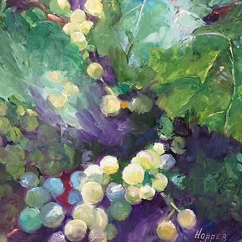 New Mexico Grapes by Carol Hopper