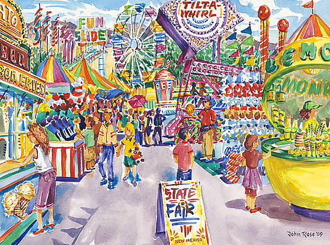 New Mexico State Fair Expo by John Rose