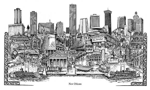 New Orleans by Dennis Bivens