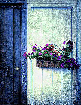 New Orleans Doorway by Kathleen K Parker