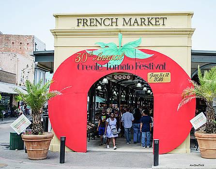 Allen Sheffield - New Orleans French Market