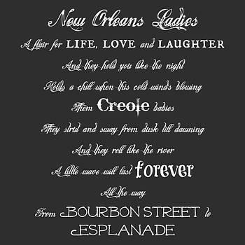 New Orleans Ladies by Susan Bordelon