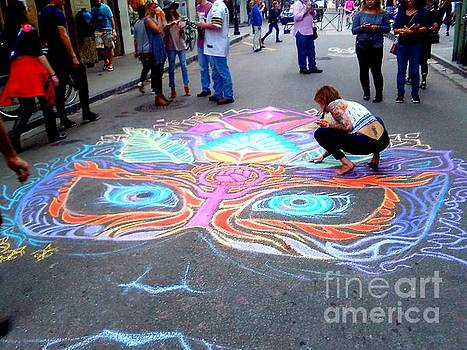 New Orleans Mardi Gras Mask On Royal Street In The French Quarter by Michael Hoard