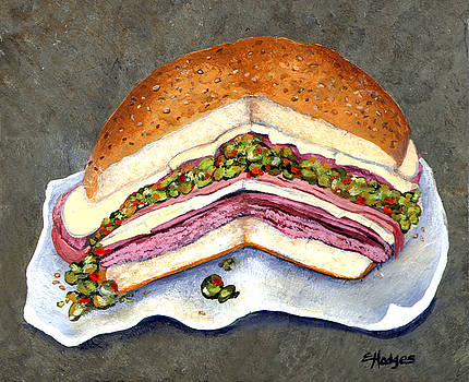 New Orleans Muffaletta by Elaine Hodges