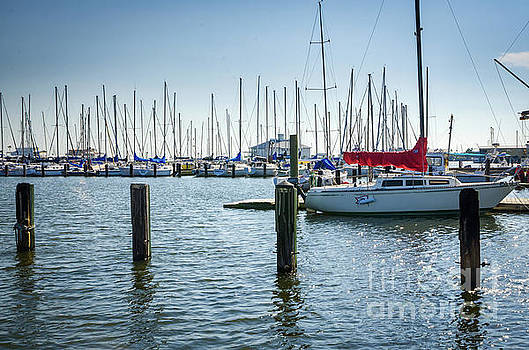 New Orleans Municipal Yacht Club by Kathleen K Parker