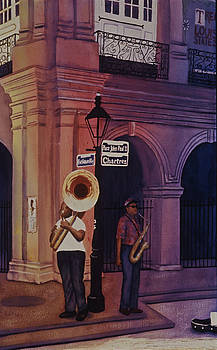 New Orleans Musicians by Karla Horst