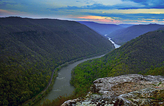 New River by Lj Lambert