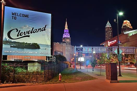 Frozen in Time Fine Art Photography - New Welcome to Cleveland