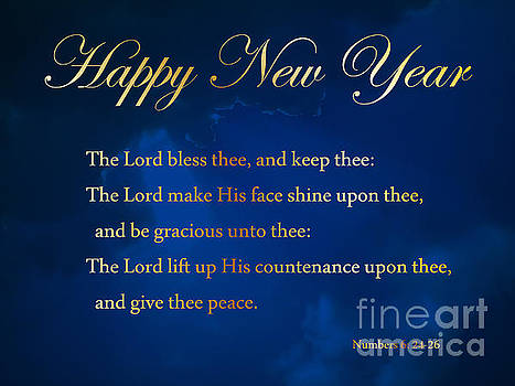 New Year Blessing by Anita Oakley