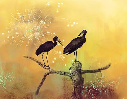 New Year. by Lyn Darlington