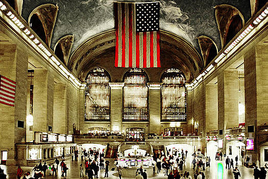 Wingsdomain Art and Photography - New York City Midtown Manhatten Grand Central Terminal 20160215
