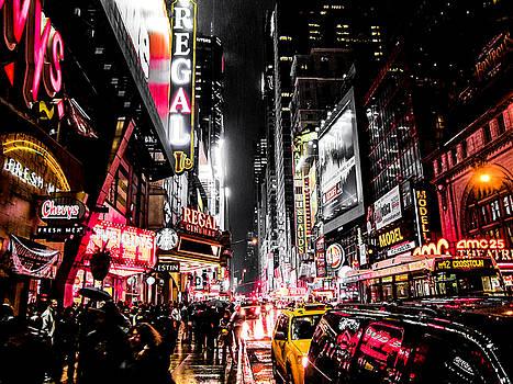 New York City Night II by Nicklas Gustafsson