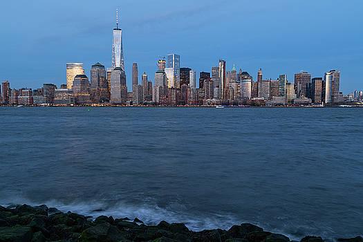 New York City Skyline by Dave Files
