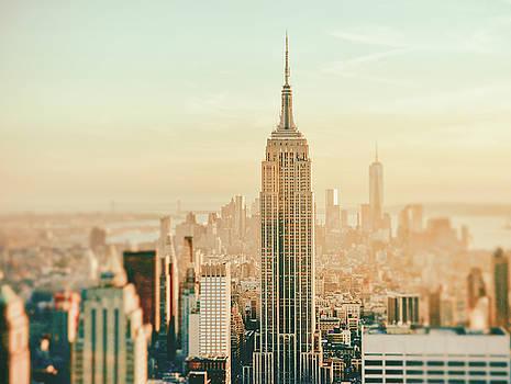 New York City - Skyline Dream by Vivienne Gucwa