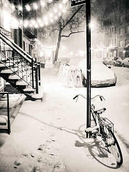 New York City - Snow by Vivienne Gucwa