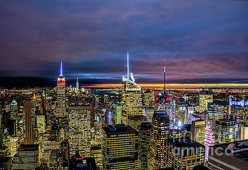 New York City Twilight by Rafael Quirindongo