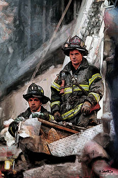 New York Firefighters after 9/11 part 2 by Kai Saarto