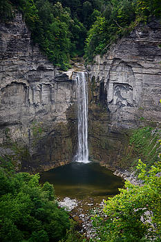 Judy Hall-Folde - New York Mountain Waterfall