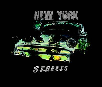 New York Streets by Kim Gauge