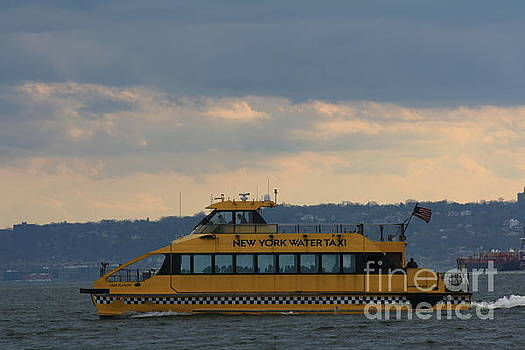 New York Water Taxi by Photographic Art and Design by Dora Sofia Caputo