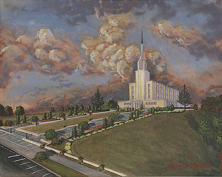 Jeff Brimley - New Zealand temple