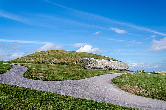 Newgrange Co Meath by Martina Fagan