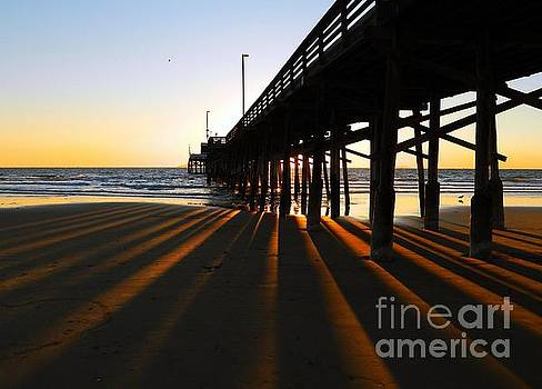 Newport Pier, Newport Beach   by Everette McMahan jr