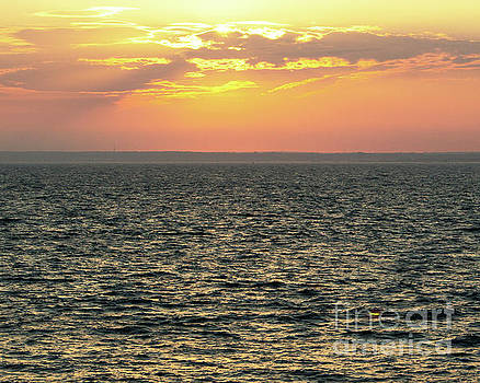 Newport Sunset 1 by Cheryl Del Toro